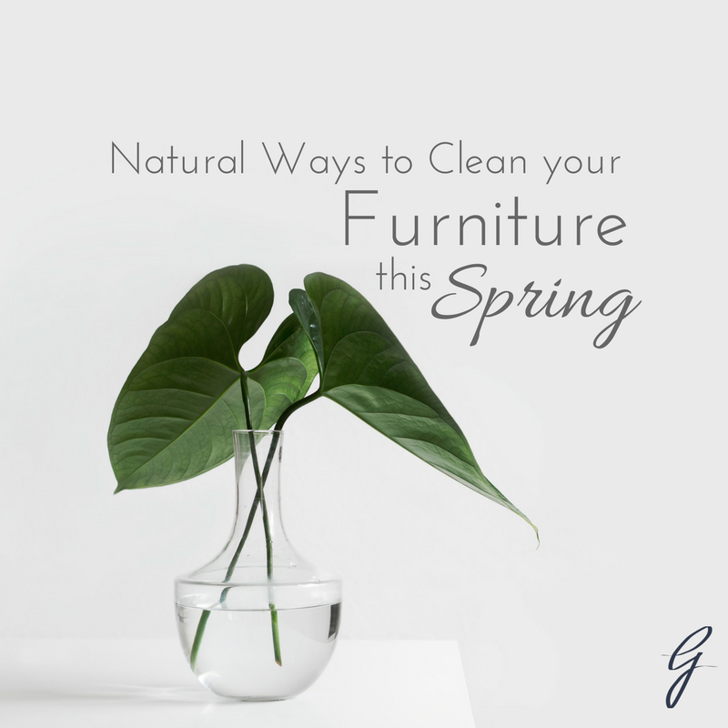 Natural Furniture cleaning solutions