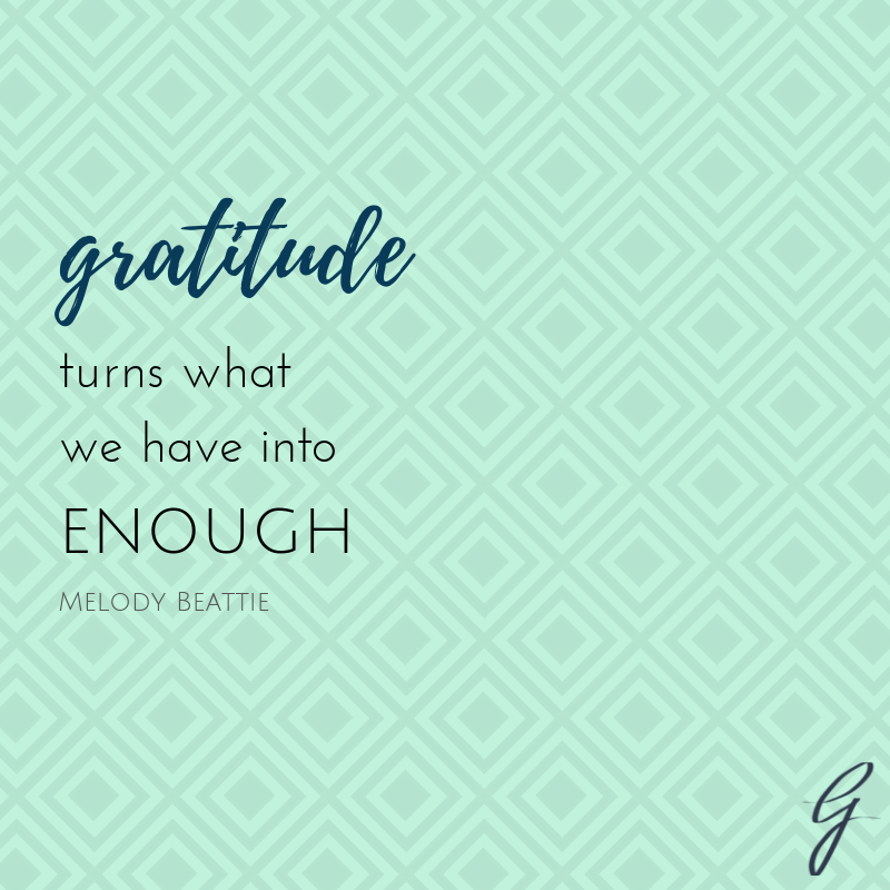 Gratitude Goes a Long Way