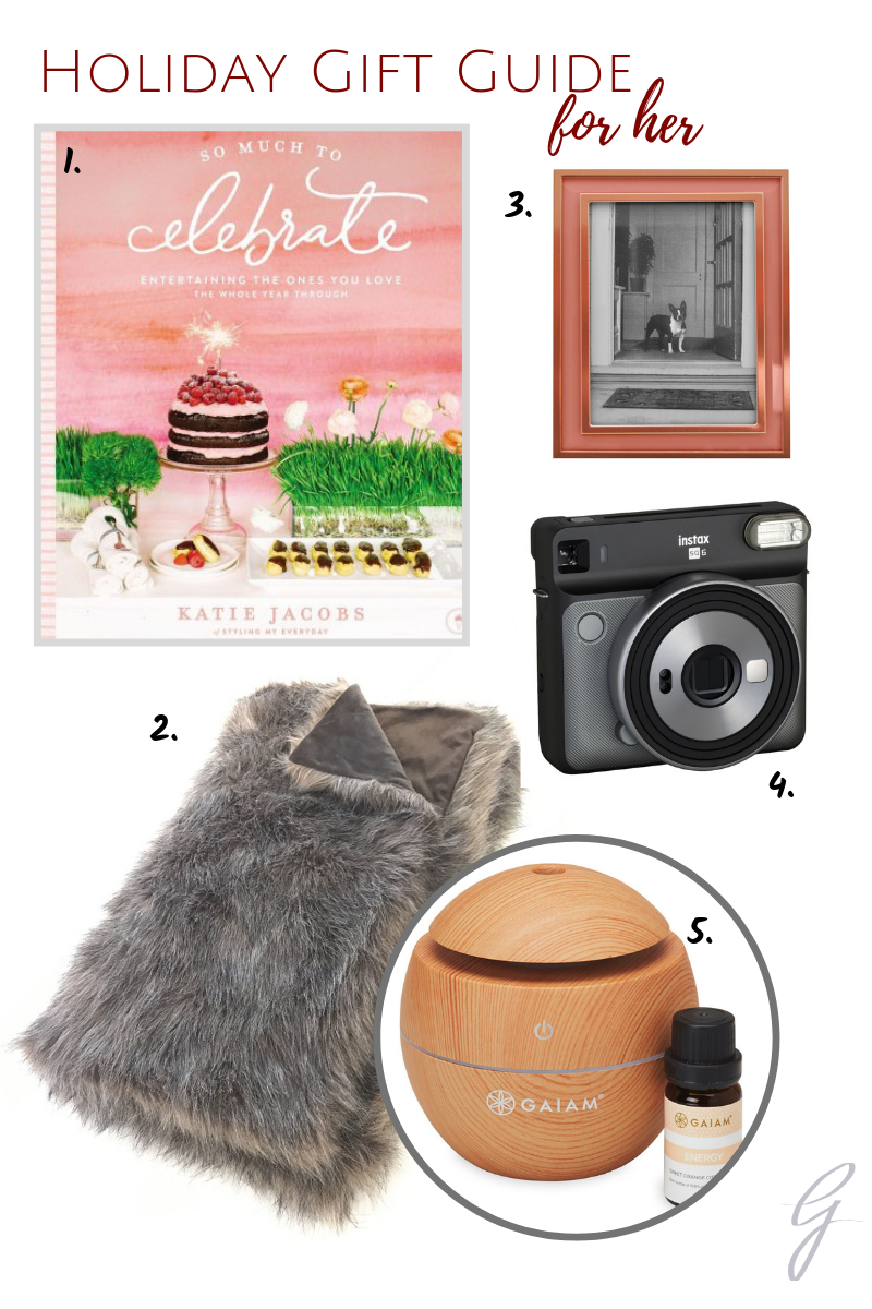 Curated gift guide from  target