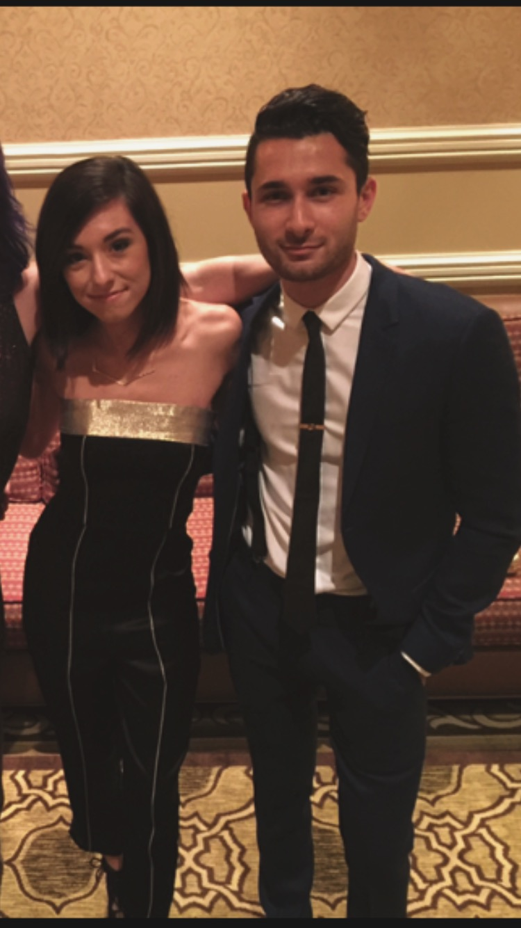 Christina and Aleem at the 2015 Global Genes Tribute to Champions of Hope