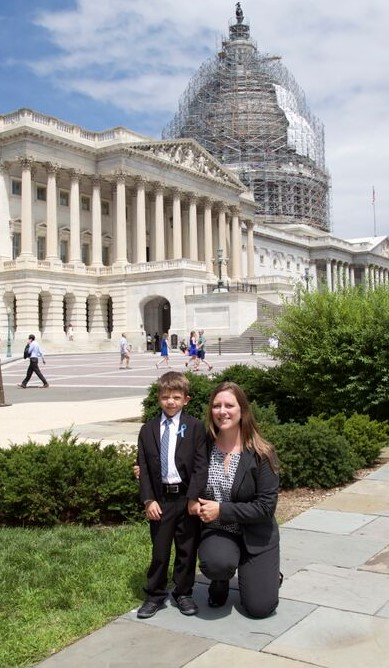 Lisa and Max at Capitol after Press Conference (2).jpg