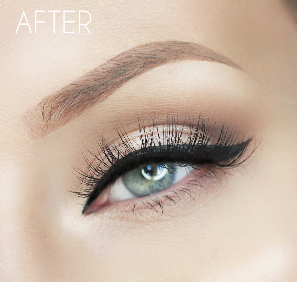 Wunderbrow Review Demo Lashes Love Leather