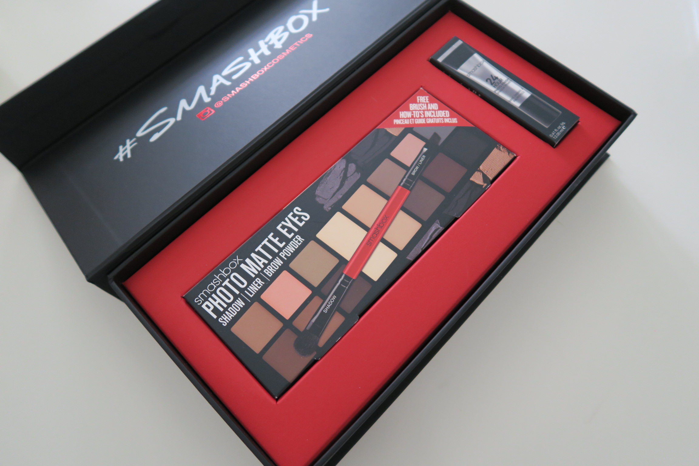 Smashbox Shapematters Photo Matte Eye Palette Lashes Love Leather