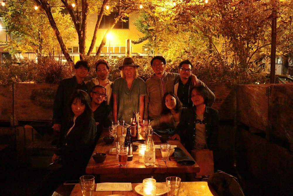 That night, we shared dinner at Ned Ludd. Special thanks to Michelle Basta for providing us an awesome dinner on the patio.