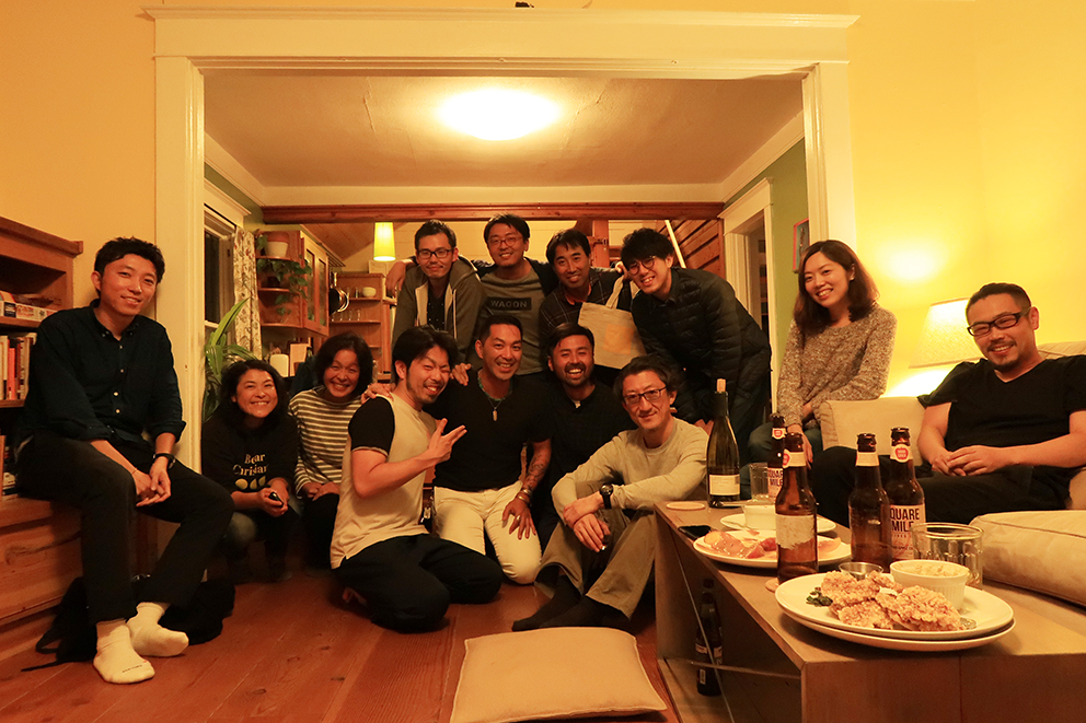Uplift PDX Member Ryuichi Suita and Shinya Kabata came to join the party.  Everyone had a great time.