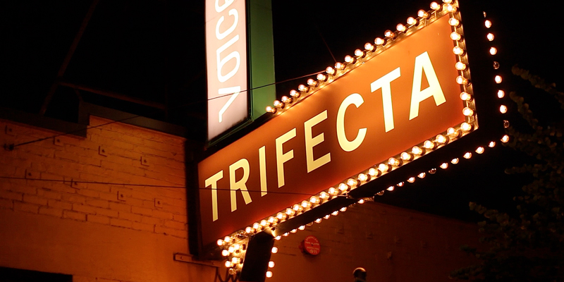 We chose Trifecta for the last night's dinner.  It is operated by Ken's bakery. Their fresh baked bread was served with some amazing food.  Everyone commented that the final dish was most amazing steak they ever had.