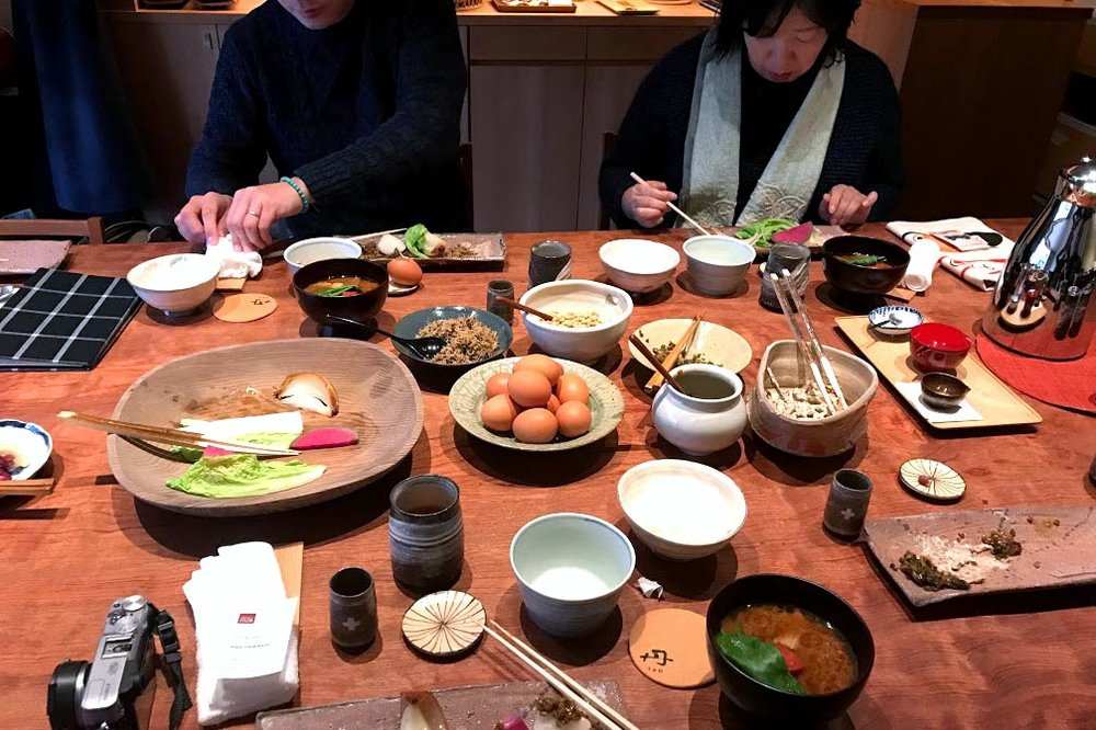 Japanese Breakfast at TAN