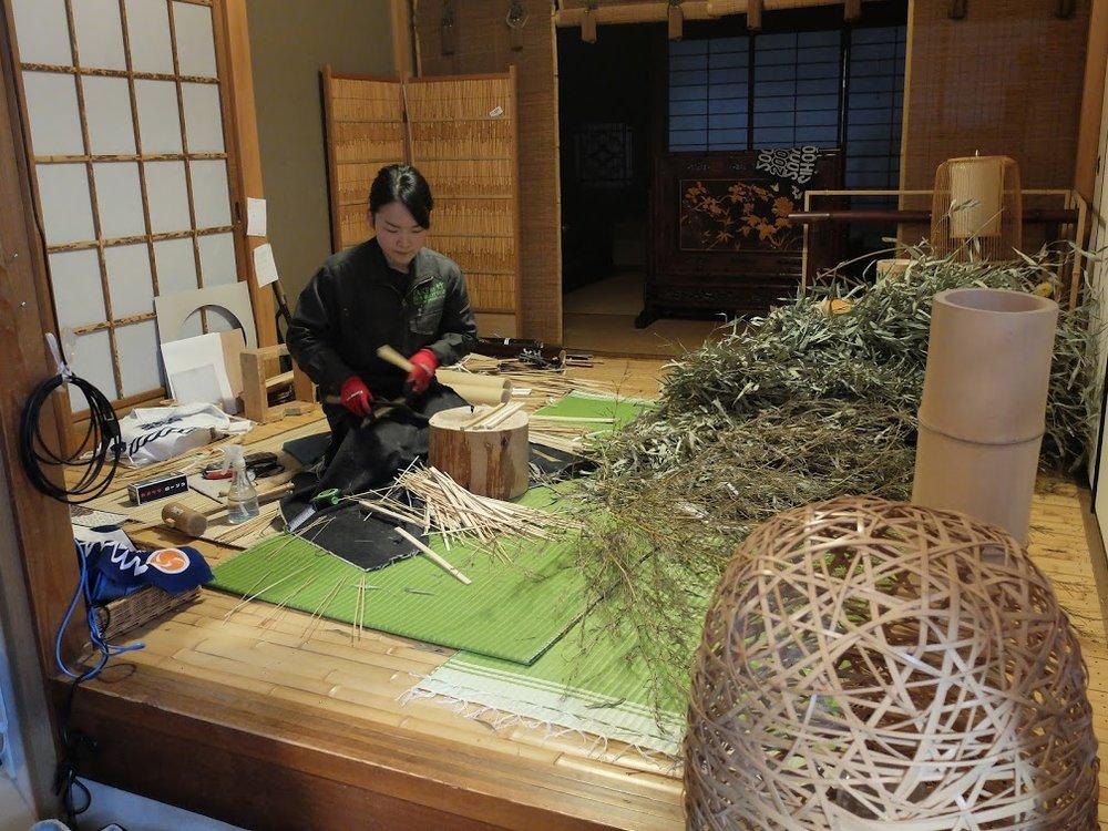 横山竹材店のツアー