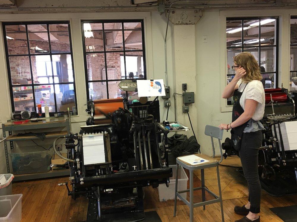 Egg Press Printing