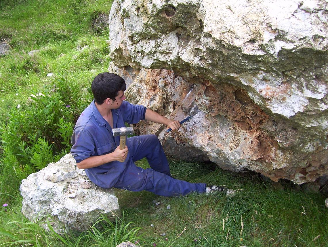 picar piedra