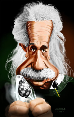 Caricature_Albert_Einstein_by_crazedude