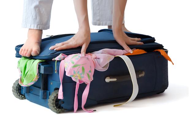 maleta llena