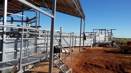 On site installation in Western Australia