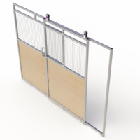 Full slide door access panel