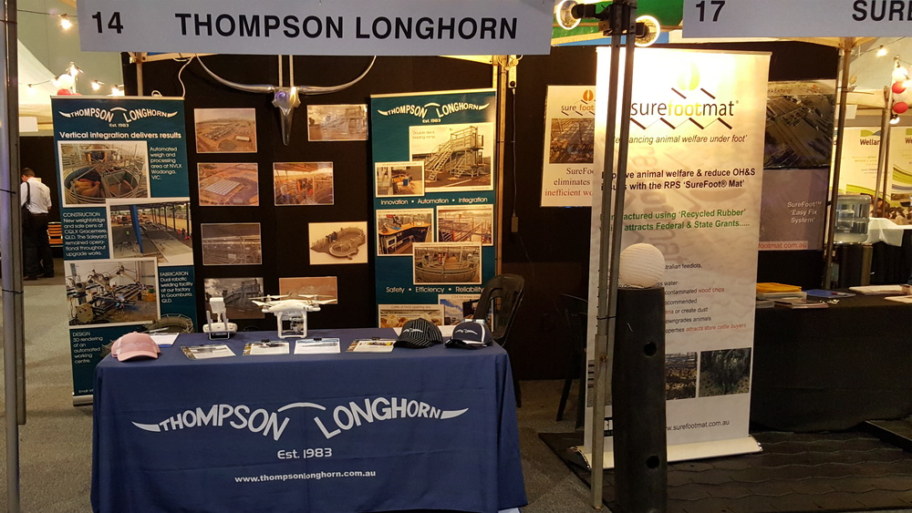 Thompson Longhorn's trade stall at LIVExchange