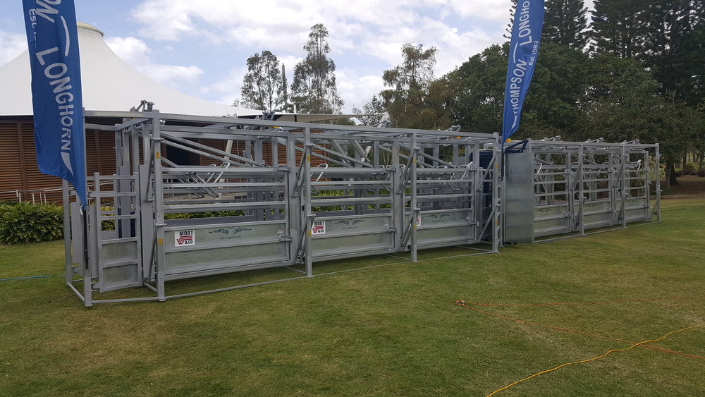 Prototype Dual to Single Laneway on display at BeefEx 2016 (Royal Pines Resort)
