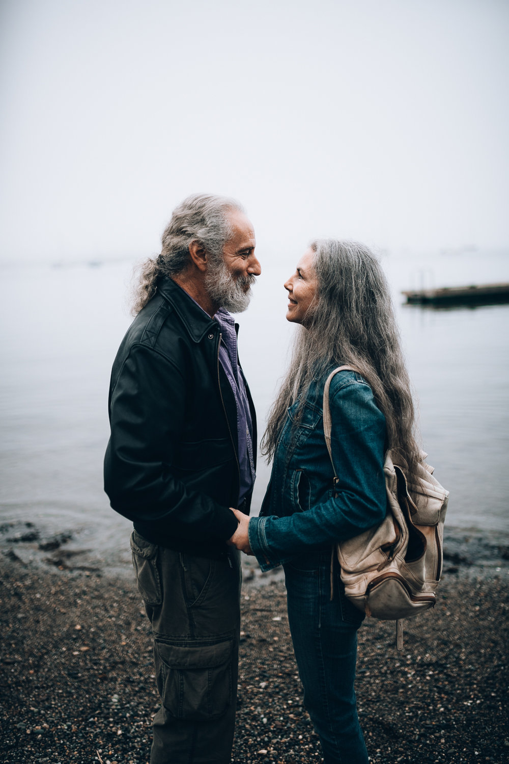 Camden Main Couple | 30 Year Anniversary | Beach at Dusk