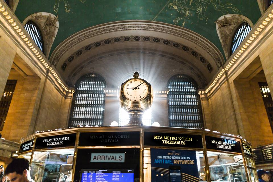 Main Concourse, Grand Central Station, New York City.
