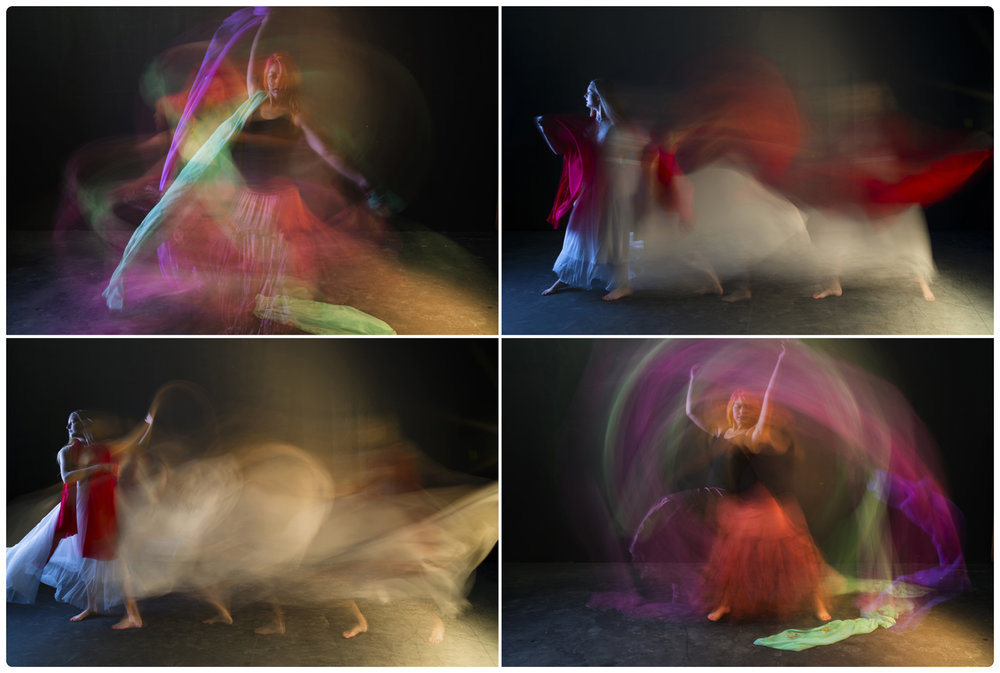 "A tych of 4 images from my ""dance and motion"" series."