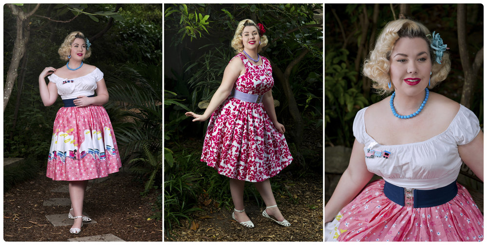 Pinup fashion blogger @curvecreation