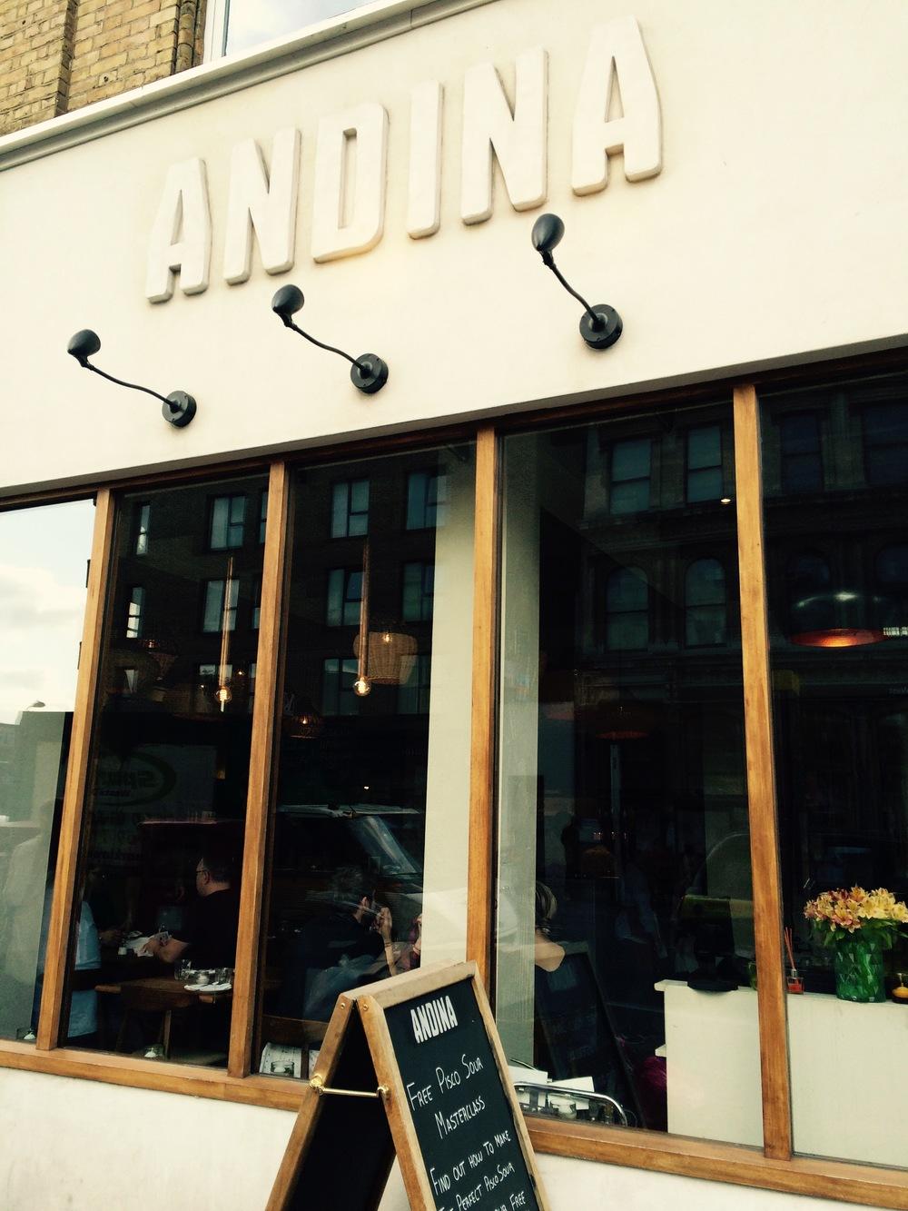 ◆ Andina Restaurant