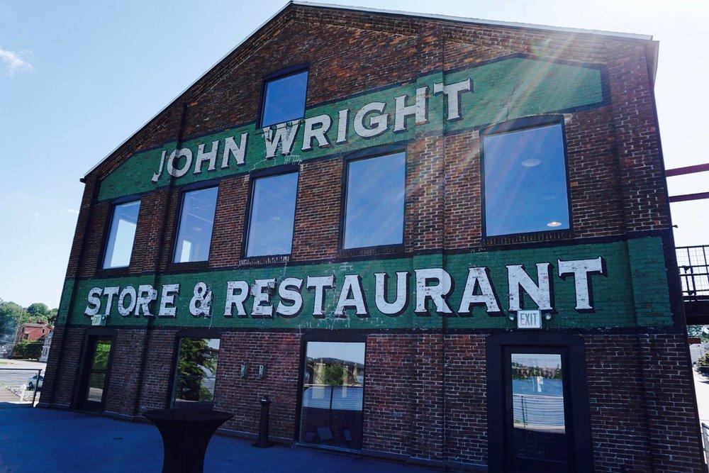 Join us at the beautiful John Wright Restaurant