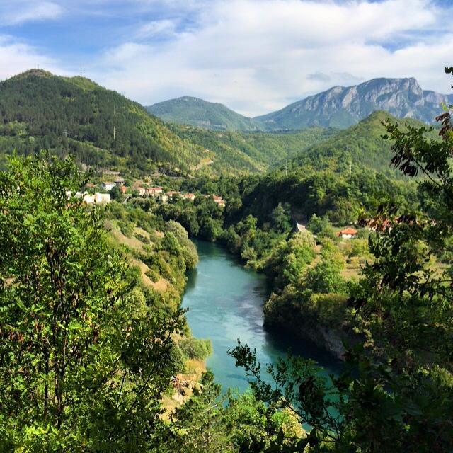 Neretva river - amazing for rafting!