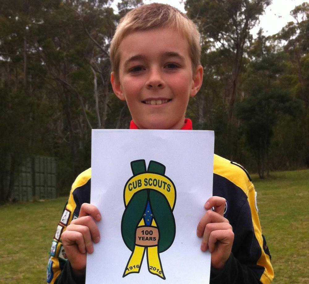 Congratulations to Peter from Tasmania who designed the winning badge design for the Cub Centenary in Australia!