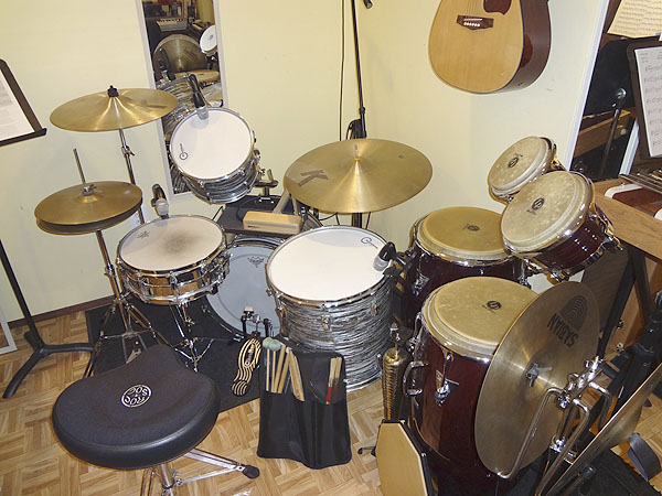 LP CLassic Series Congas and Bongos