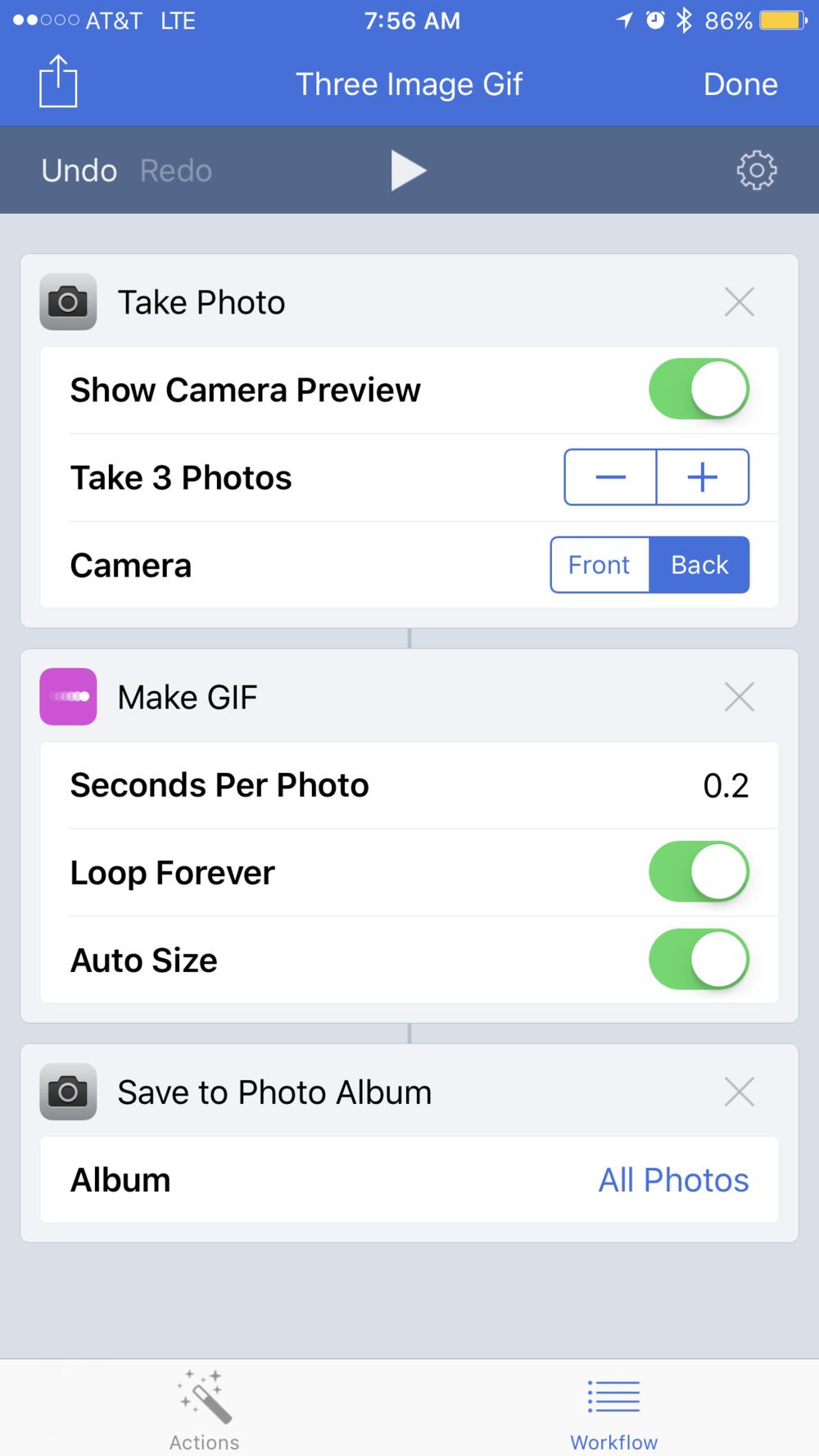 download twitter videos iphone workflow