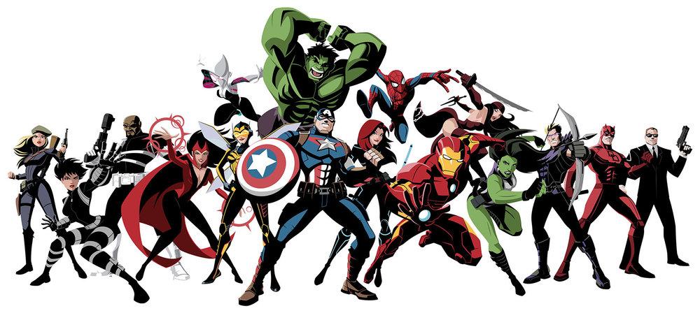 Marvel Heroes Hail Hydra