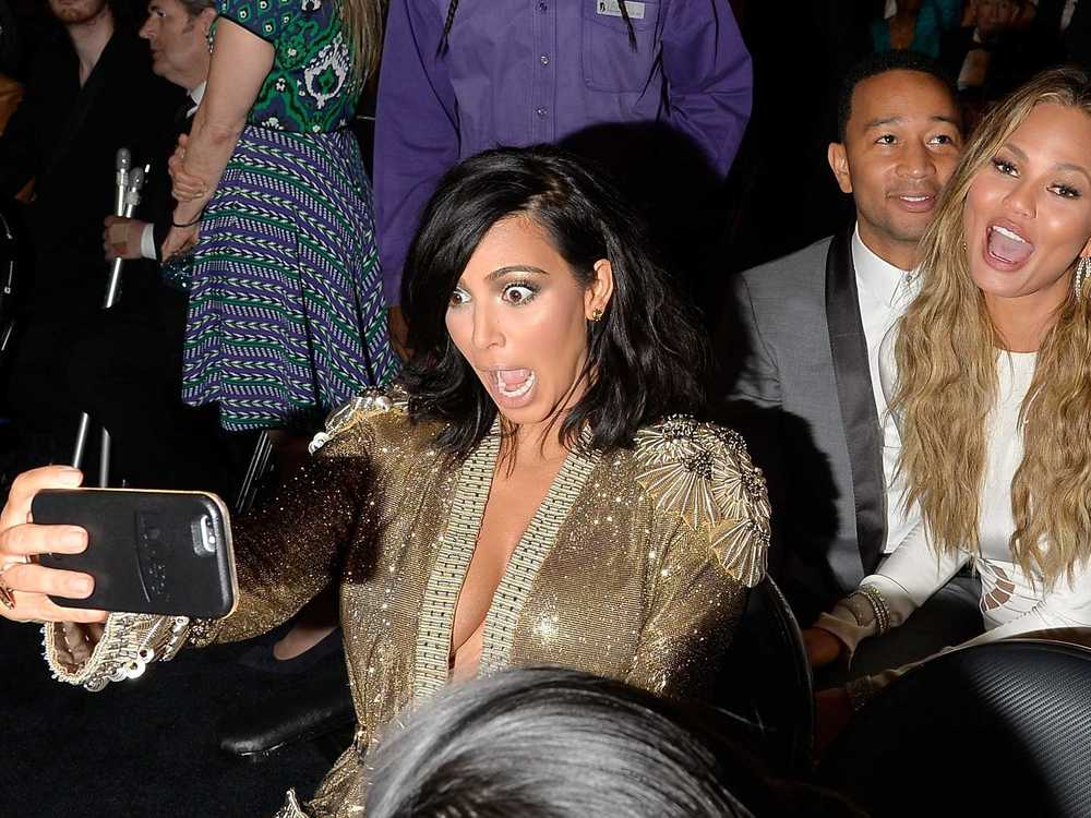 Kim Kardashian is an avid user of The Lumee phone case ;-)