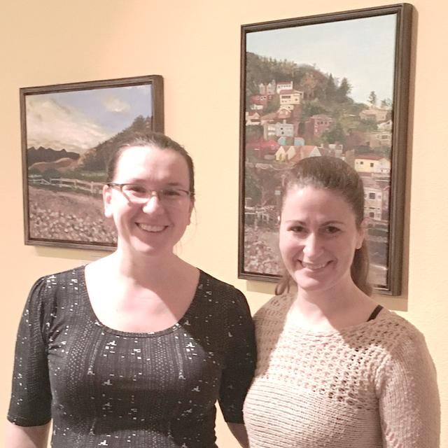 Christy and Alana