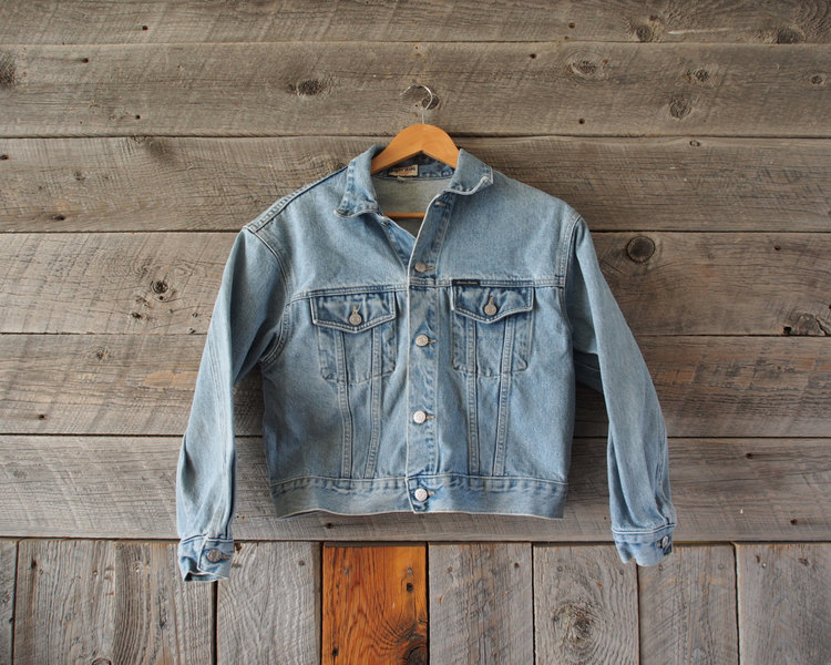 Vintage Guess Jeans Denim Jacket Windy Peak Vintage