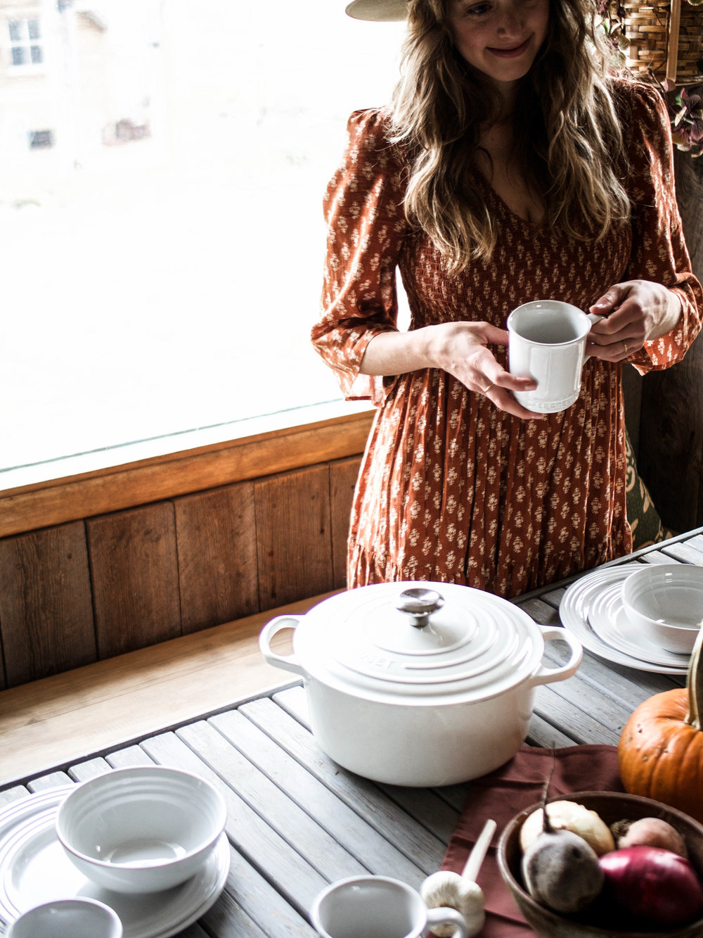 windy peak vintage, Le Creuset and FeedFeed holiday giveaway