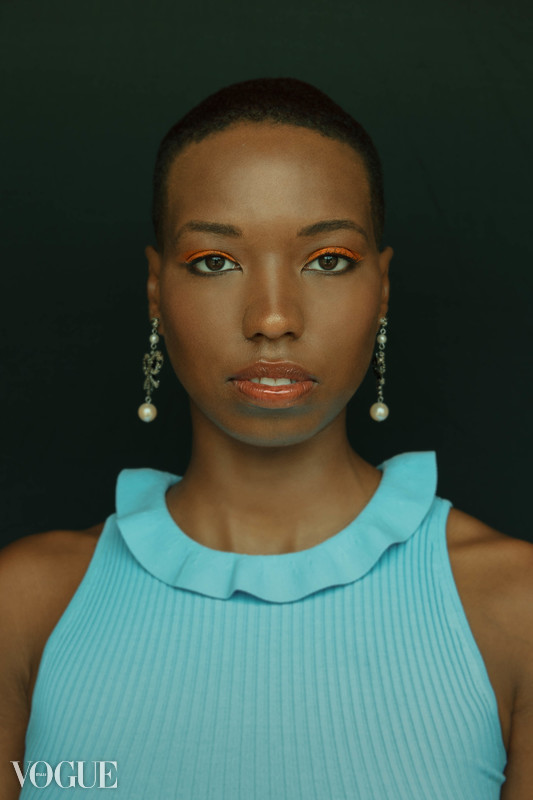 """Blue"". ( 9 July 2018). ""Portfolio Xingni Kilby,"" Vogue Italia, PhotoVogue."