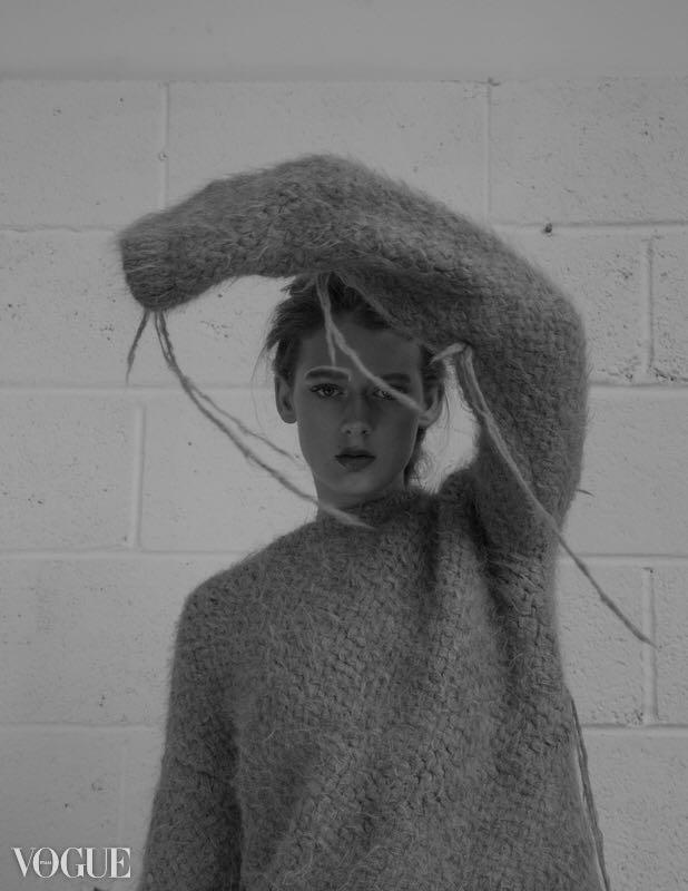 """Listlessness"". (22 January 2018). ""Portfolio Ruta Jane,"" Vogue Italia, PhotoVogue."
