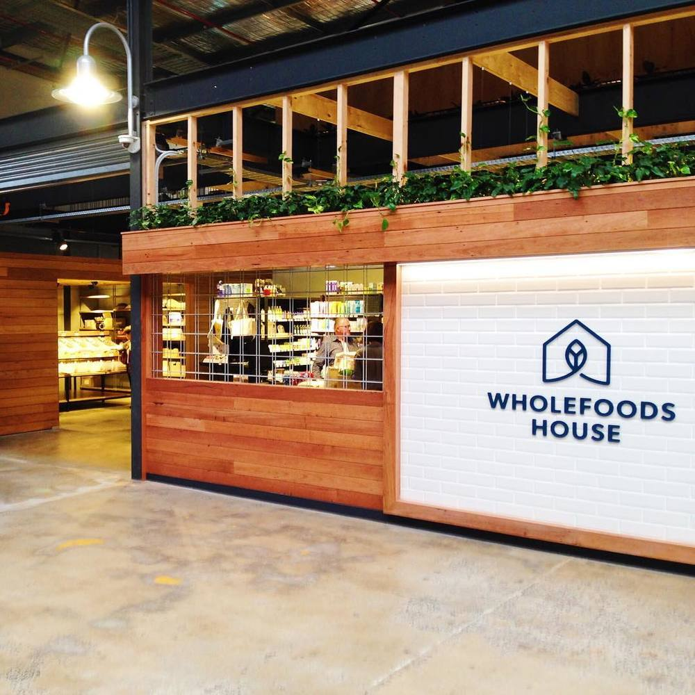 The new Wholefoods House site at Saporium in Sydney's Rosebery.