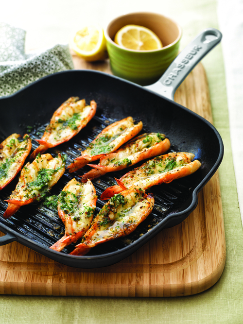 VIVE Recipes Prawns