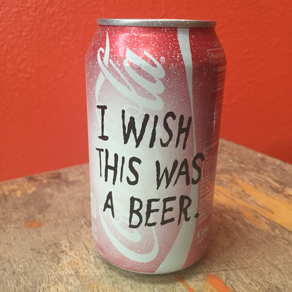 I WISH THIS WAS A BEER