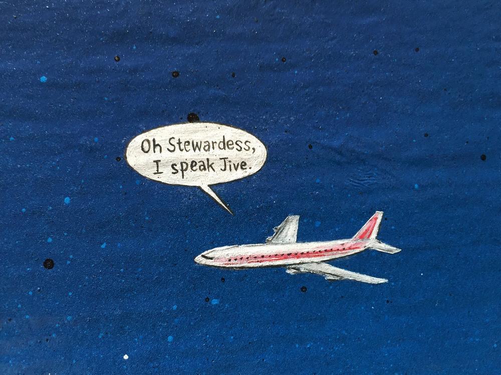 I SPEAK JIVE (Detail)