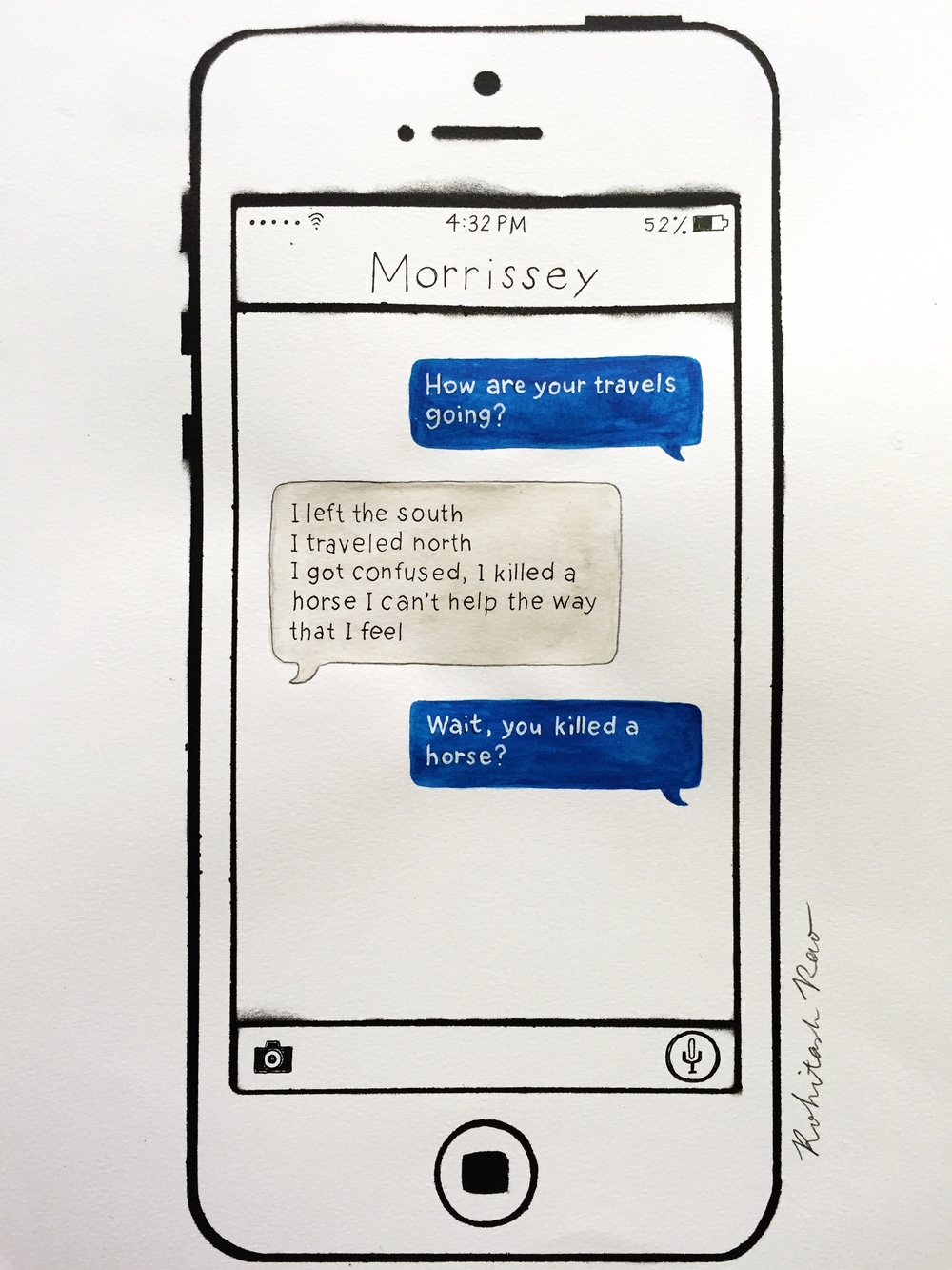 TEXTS FROM MORRISSEY: SHEILA TAKE A BOW