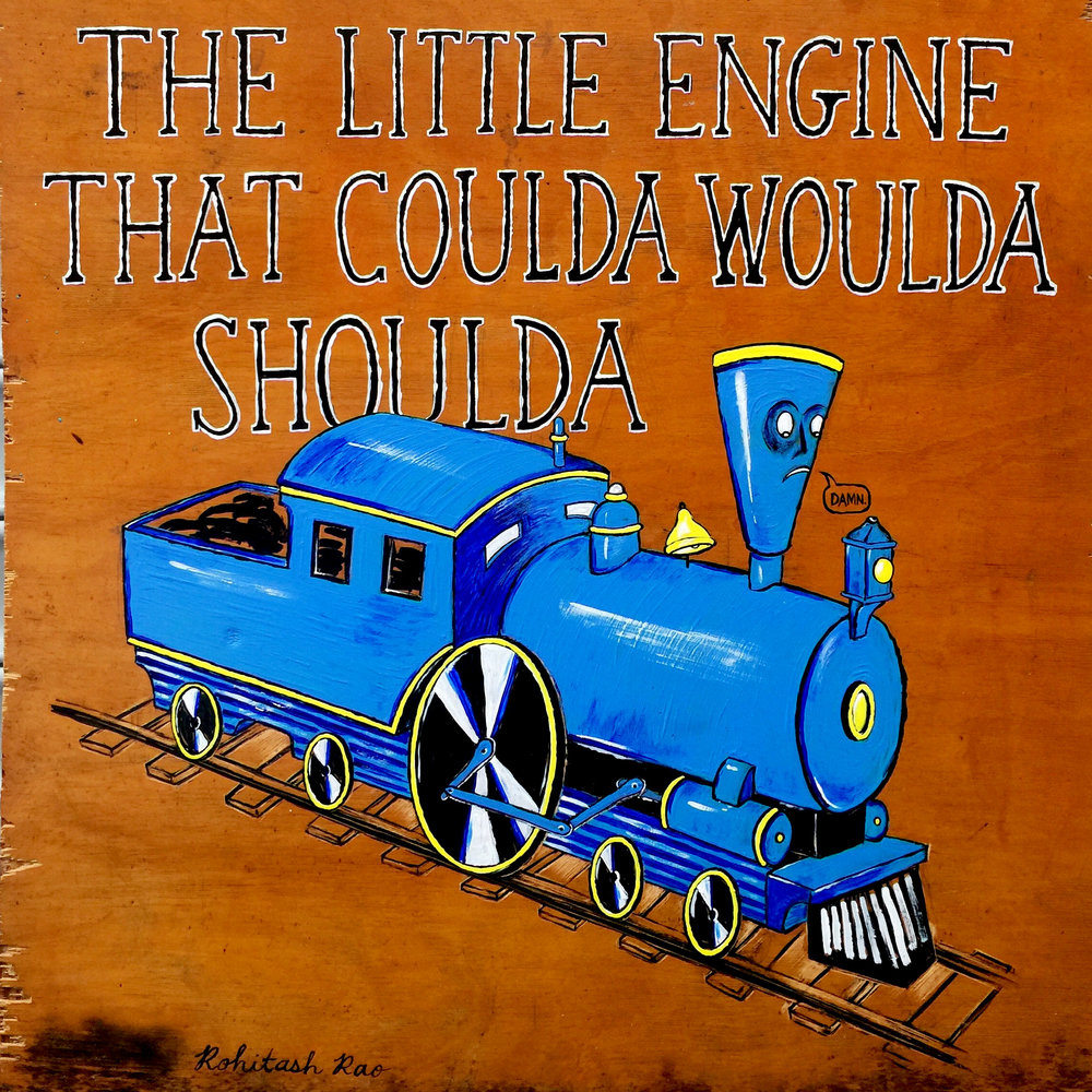 THE LITTLE ENGINE THAT COULDA WOULDA SHOULDA