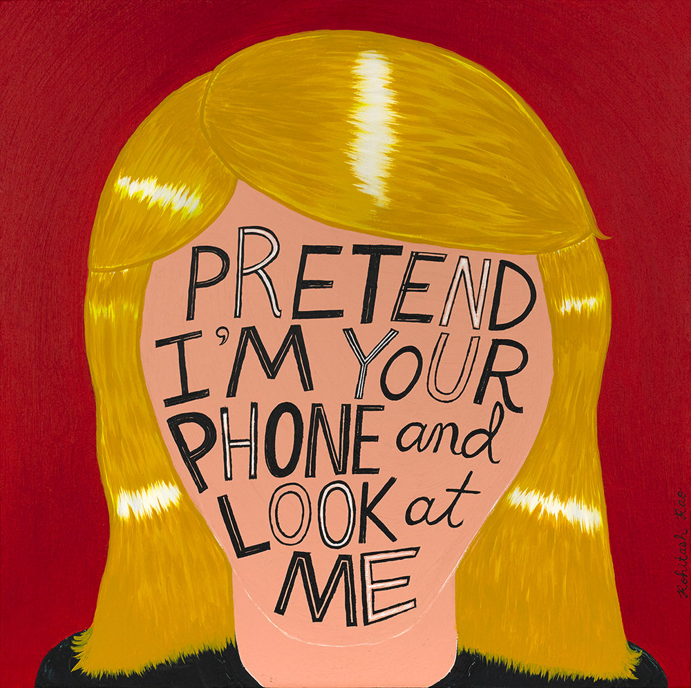 PRETEND I'M YOUR PHONE
