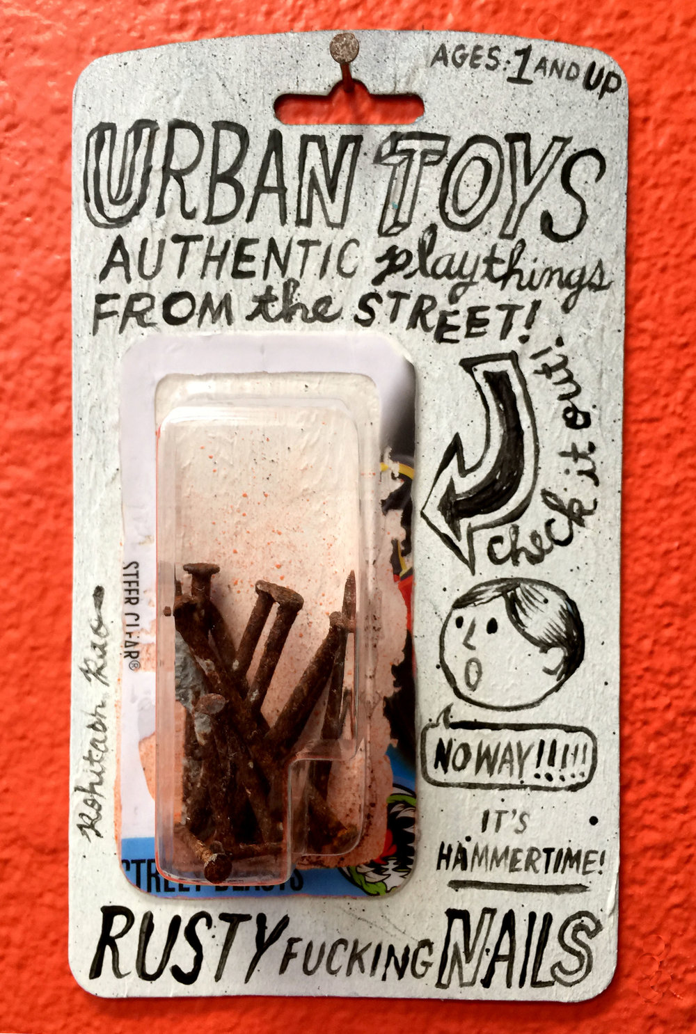 URBAN TOYS RUSTY FUCKING NAILS