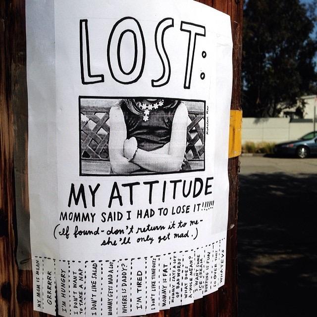 LOST: MY ATTITUDE