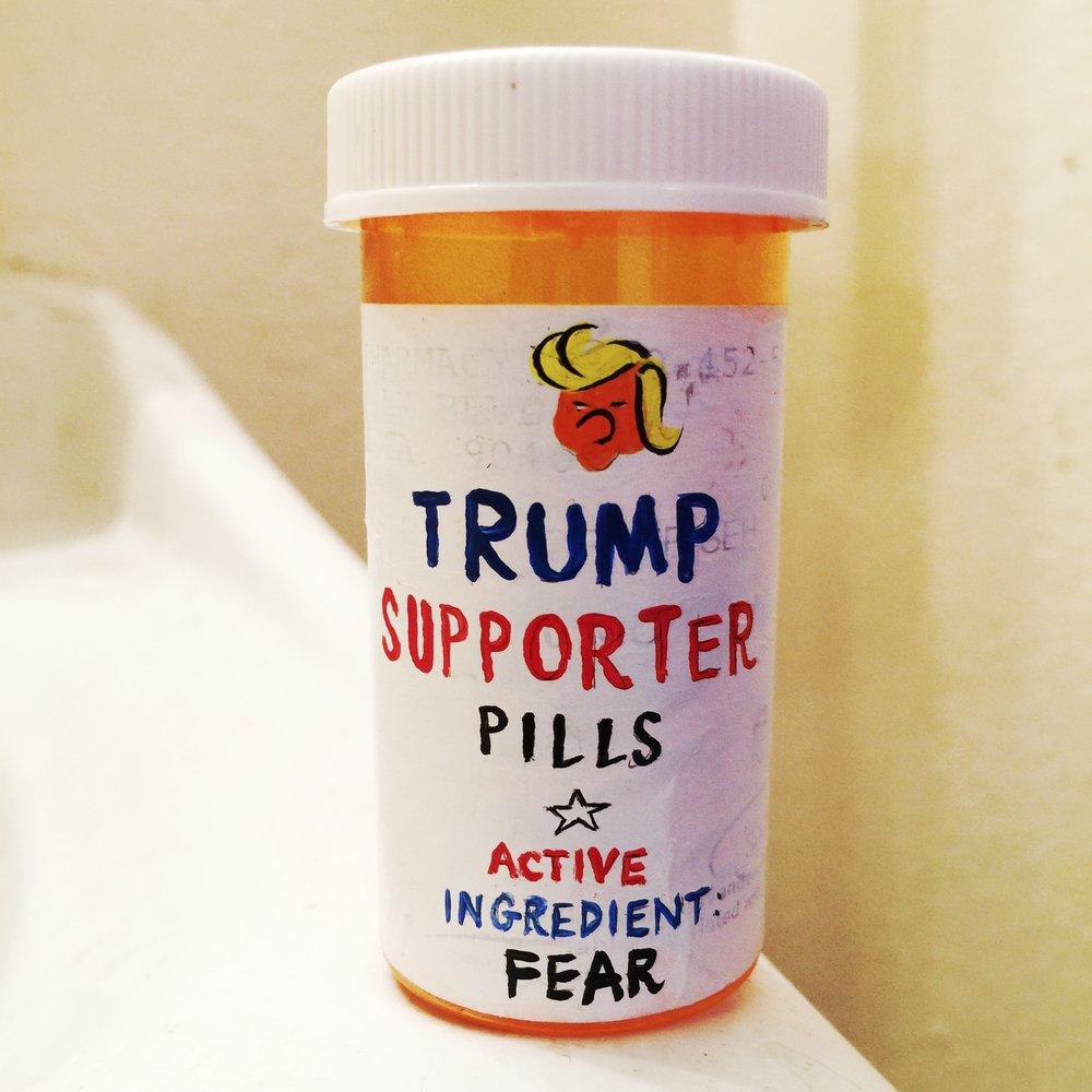 TRUMP SUPPORTER PILLS