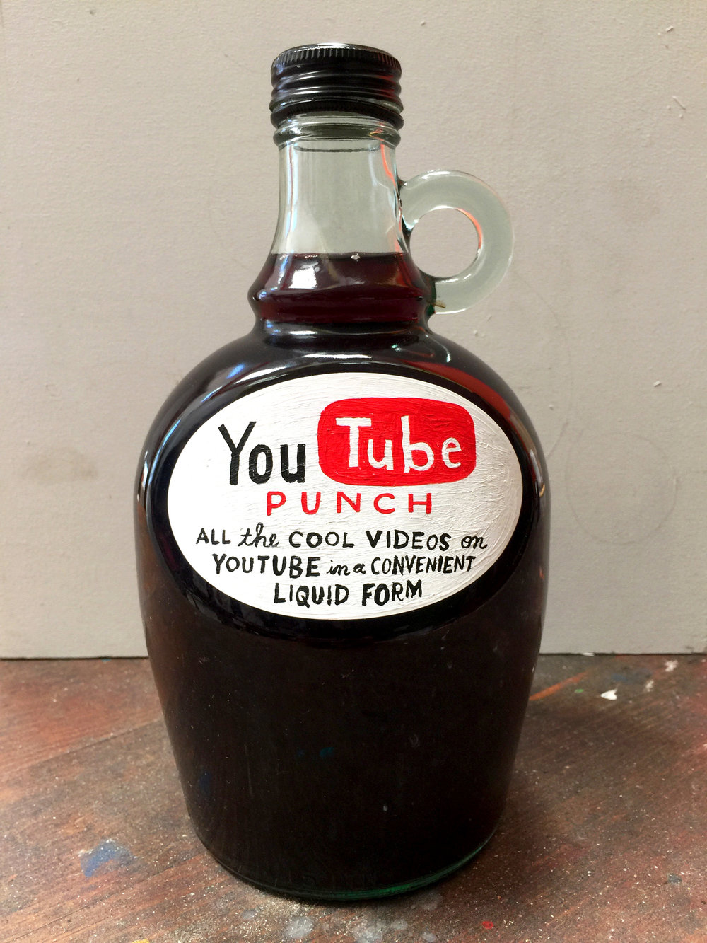 YOU TUBE PUNCH