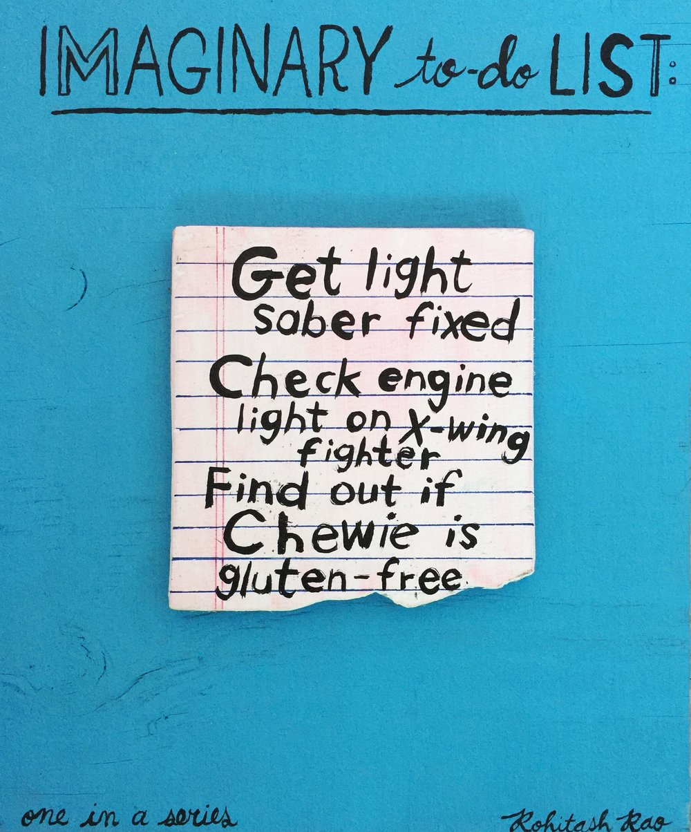 IMAGINARY TO-DO LIST