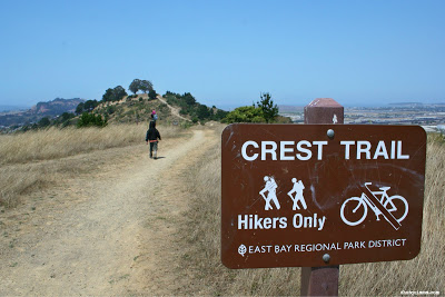 Crest Trail to Radio Towers